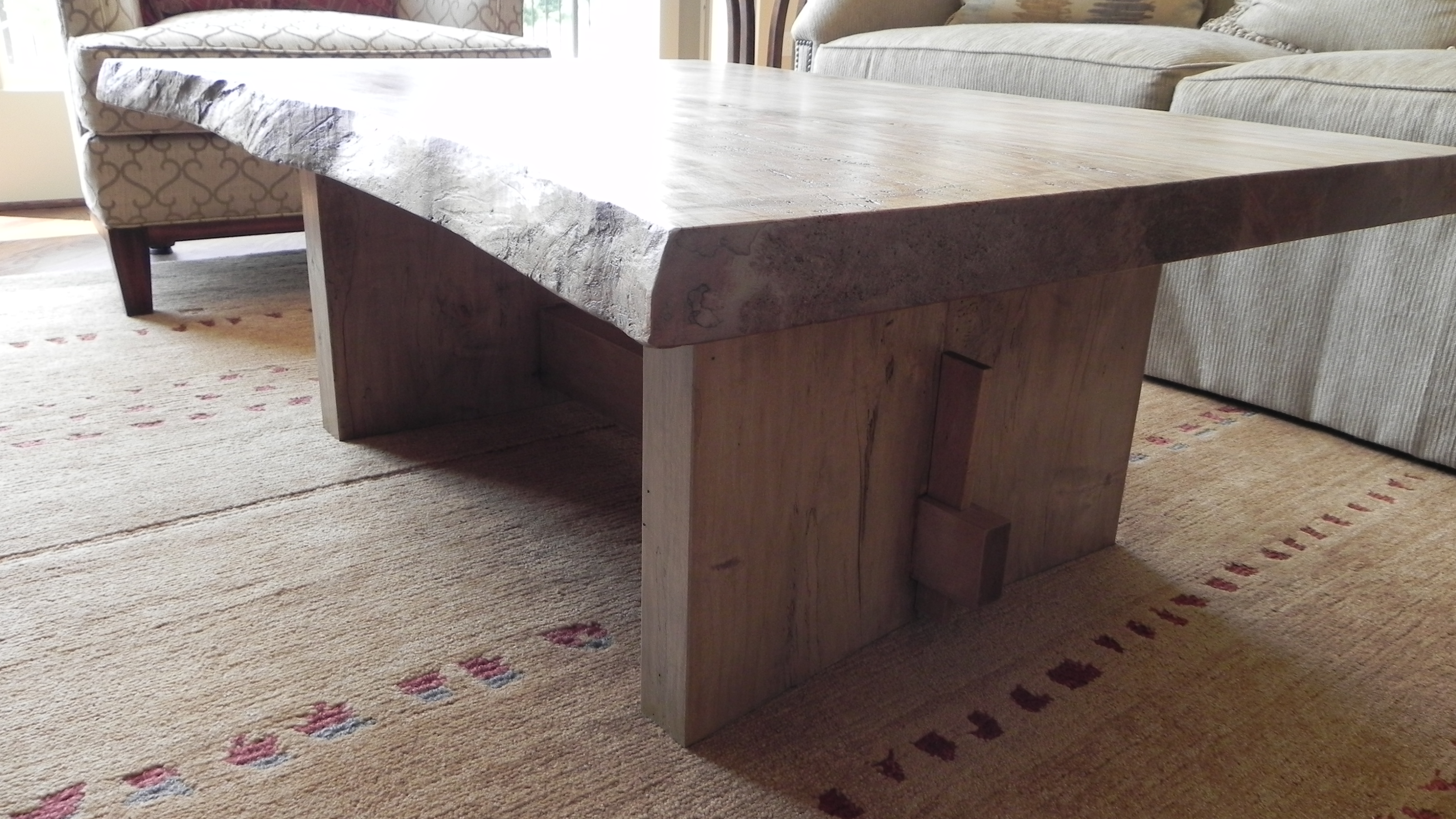 Spalted Maple Flooring Spalted Maple Coffee Table