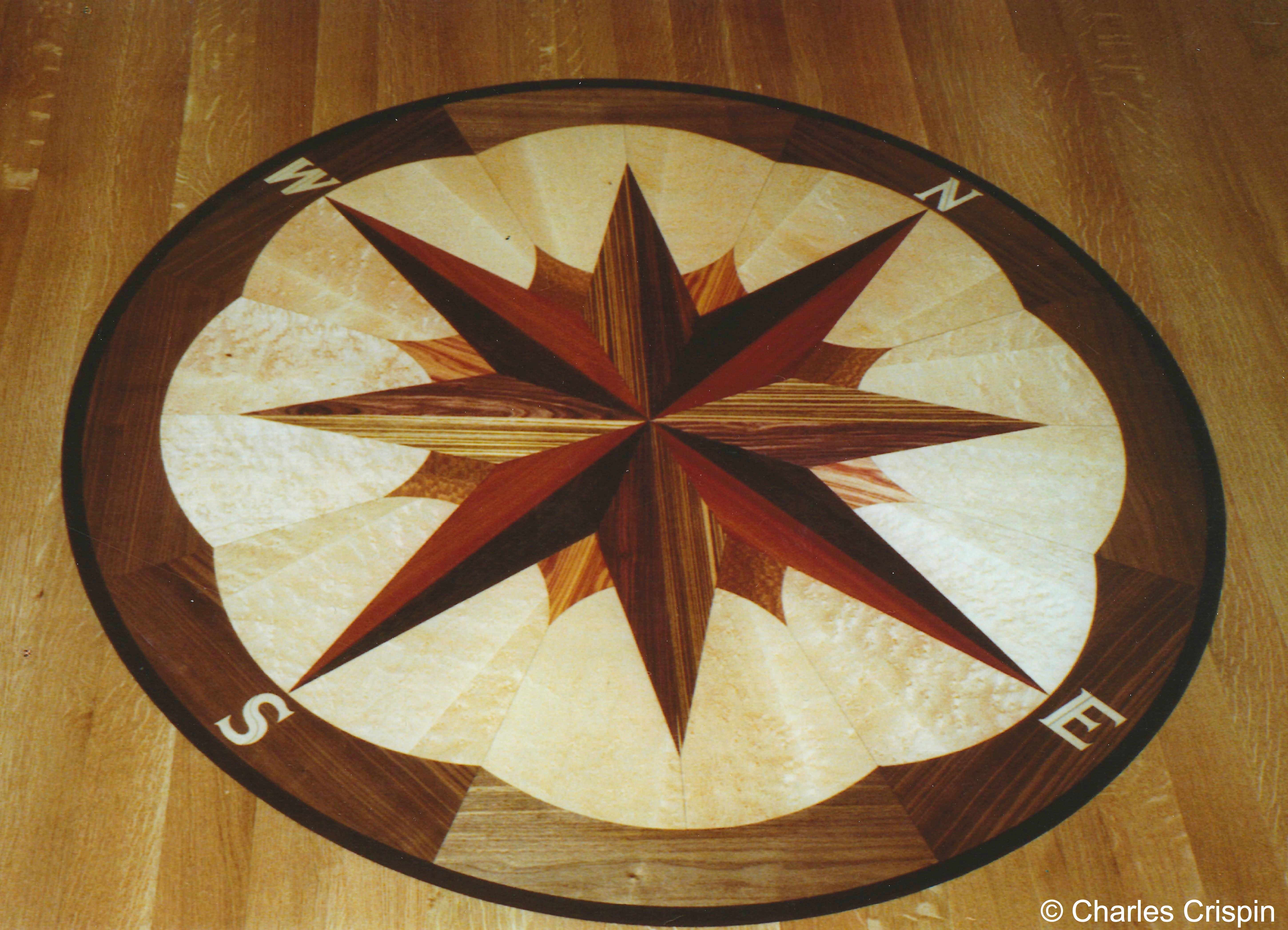 Perfect Medallion Hardwood Flooring Designs
