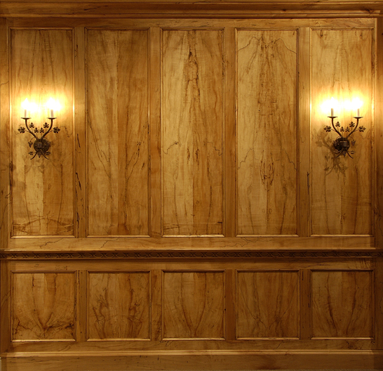 Wall Paneling on Quarter Sawn Flooring