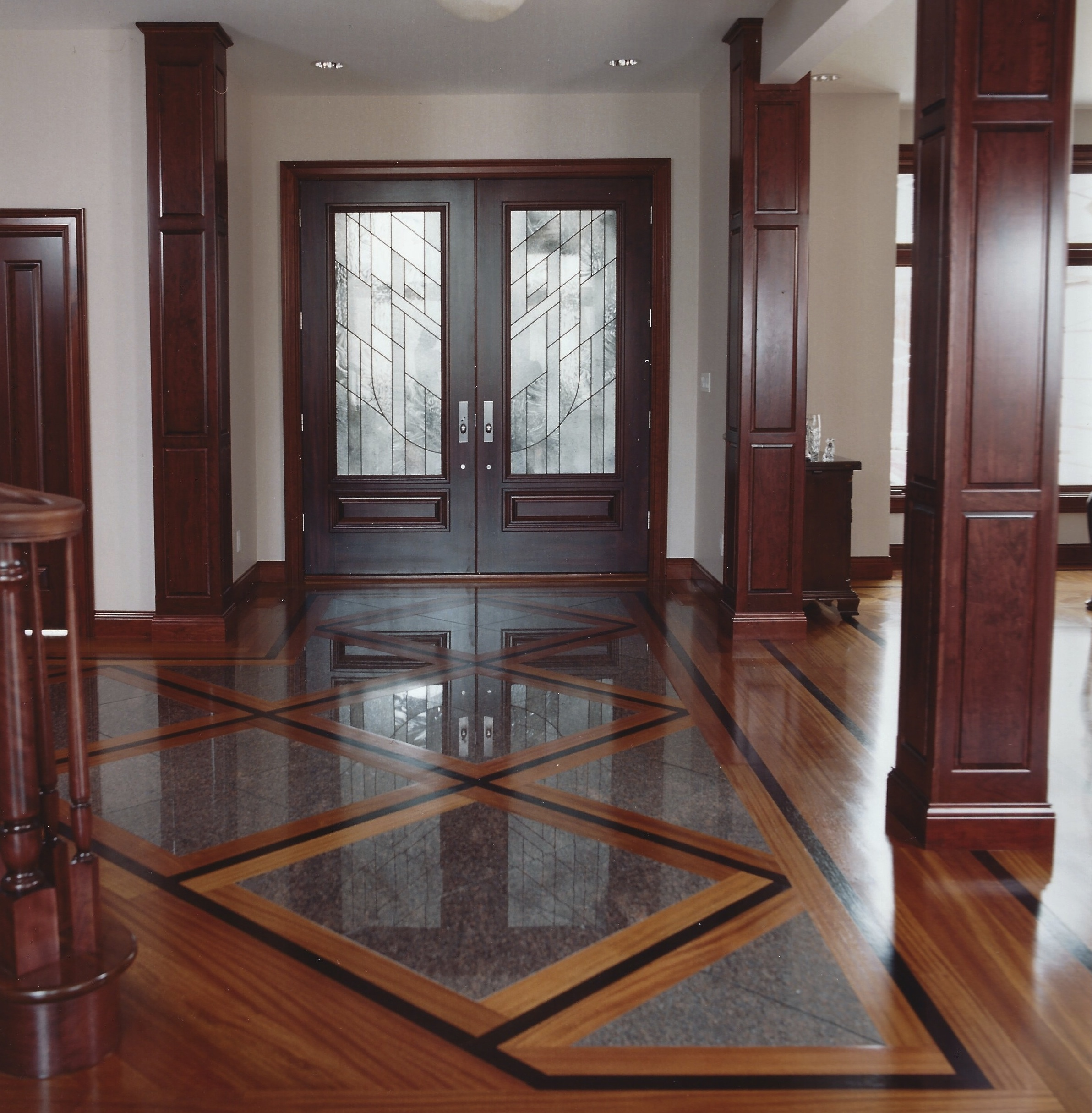 Parquetry flooring legendary hardwood floors llc for Floor designs